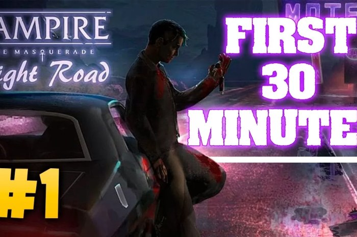 Vampire The Masquerade Night Road Mod APK