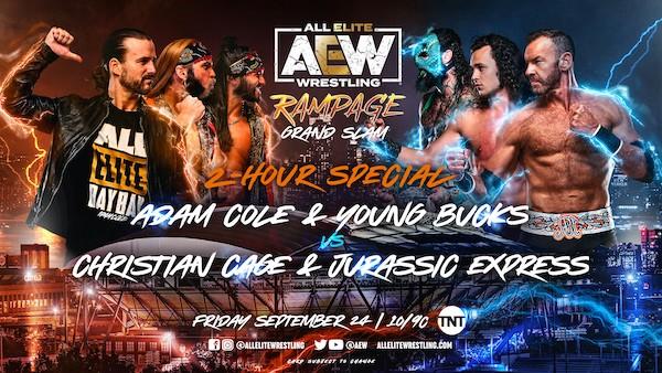 Watch Wrestling AEW Rampage: Grand Slam Live 9/24/21