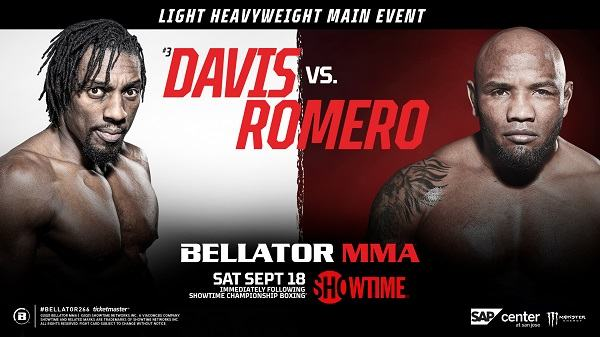 Watch Wrestling Bellator 266 Davis vs. Romero 9/18/21