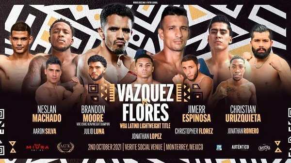 Watch Wrestling Vazquez vs. Flores 10/2/21