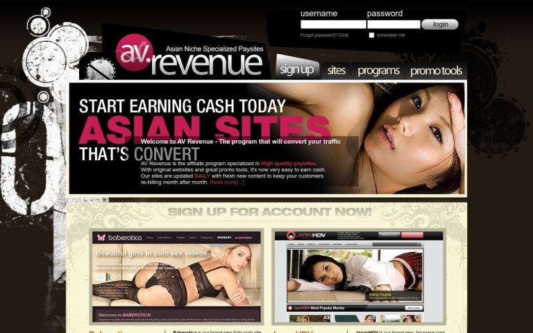 AV Revenue - best Porn Affiliate Network