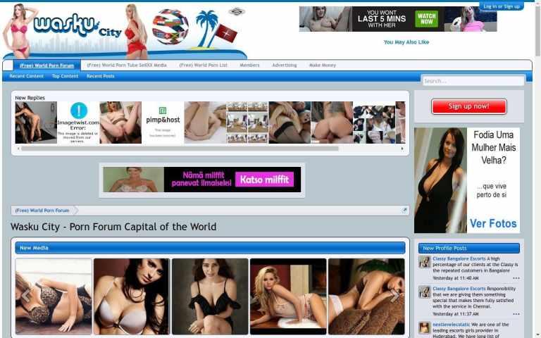 Waskucity - best Porn Forum Sites