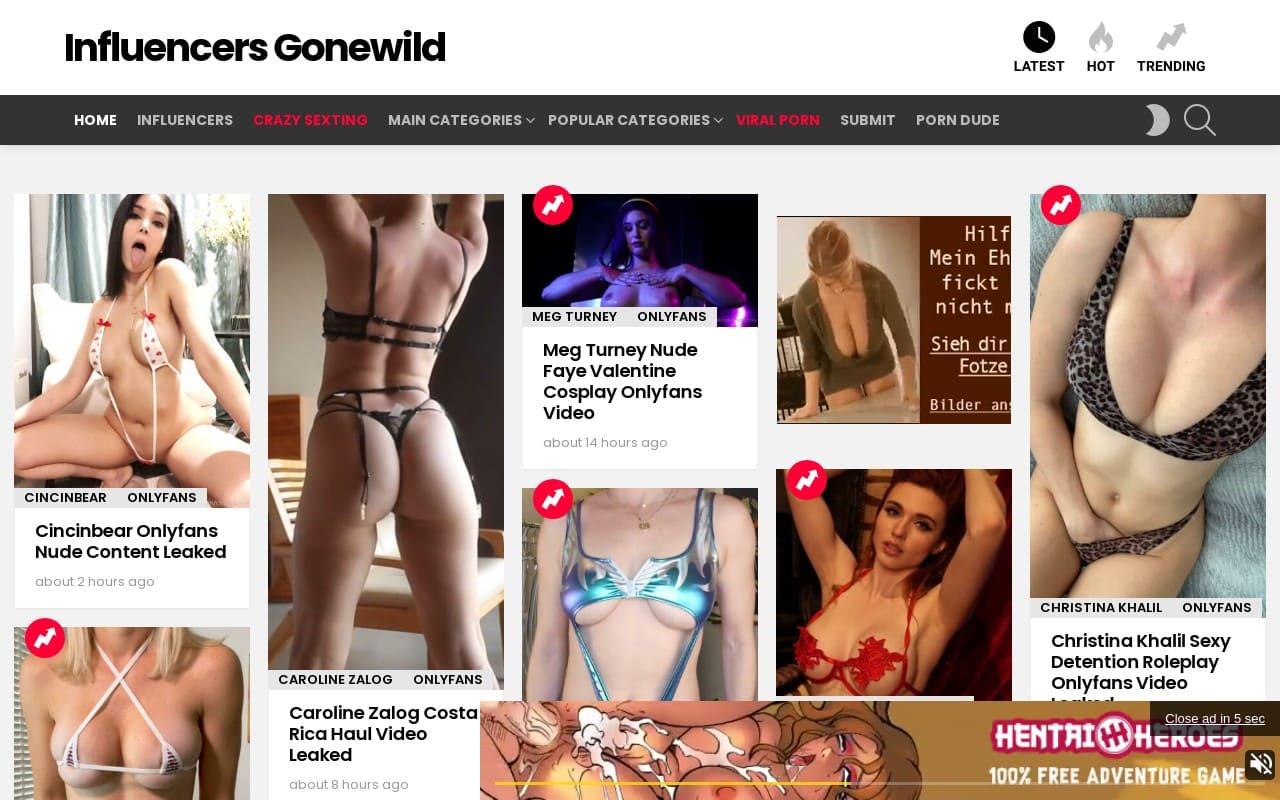 Influencers Gonewild - best Free Onlyfans Leak Sites