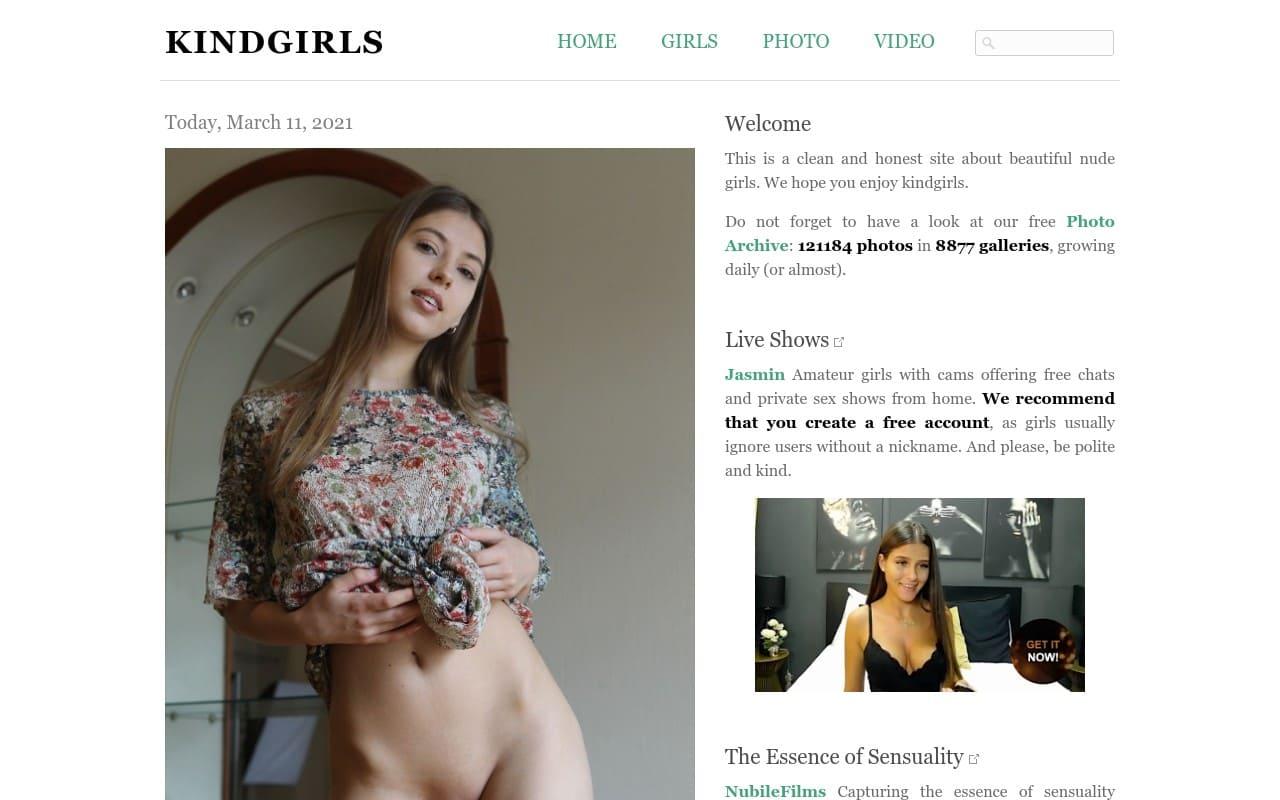 Kindgirls - best Naked Girls Galleries