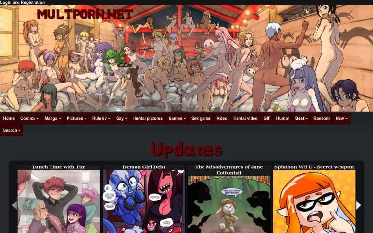 Multporn - best Porn Comics Sites