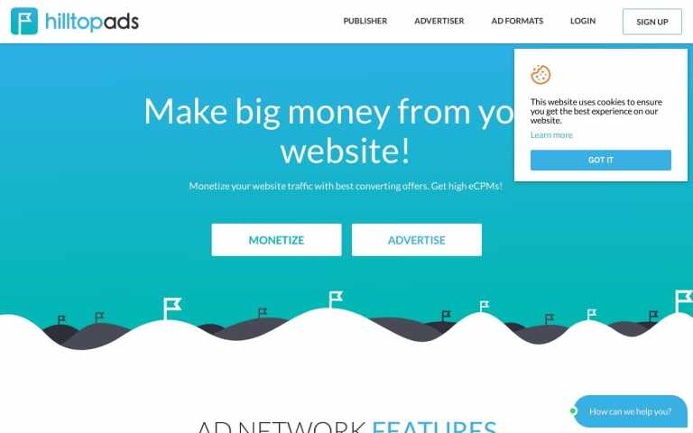 Hilltopads - best Adult AD Networks