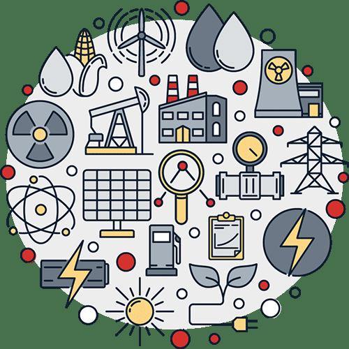 Technology Convergence Illustration