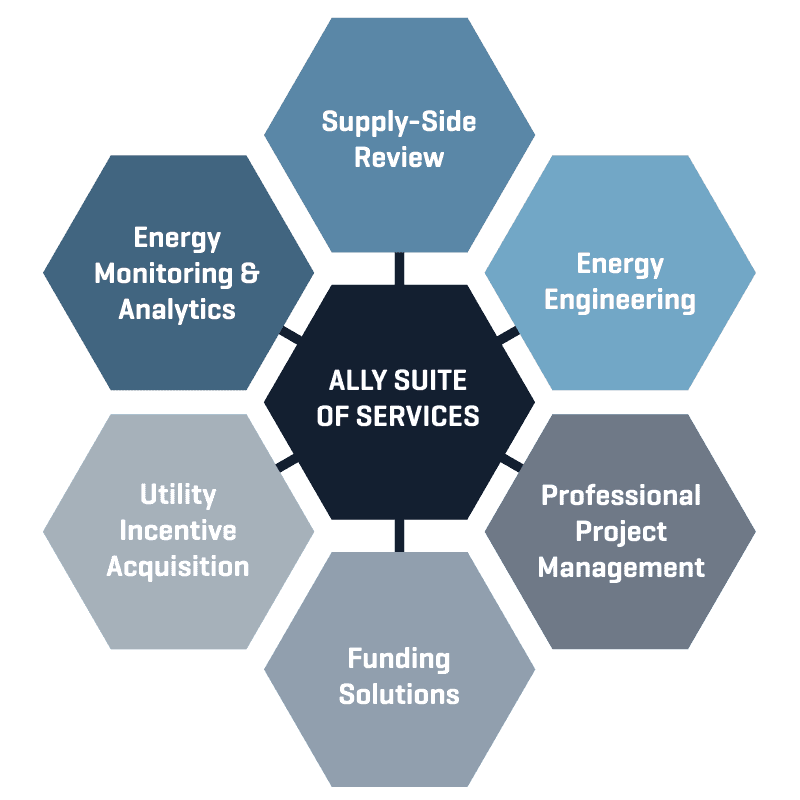 Ally Suite of Services Graphic