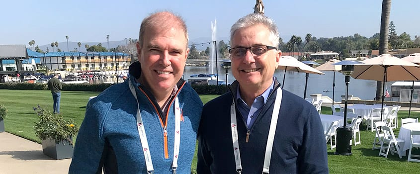 Shane Mathis and John Mahoney