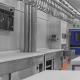 Interior of Industrial Refrigeration Plant