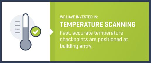 temperature scanning label