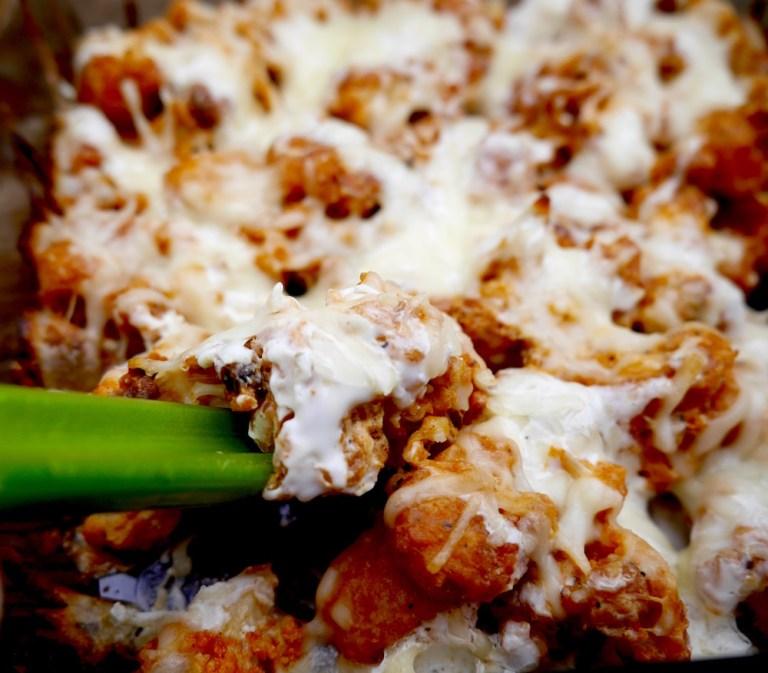 Buffalo Cauliflower Casserole