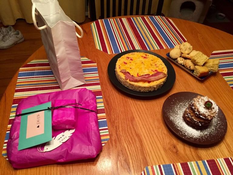 Savory Cheesecake Surprise Celebration