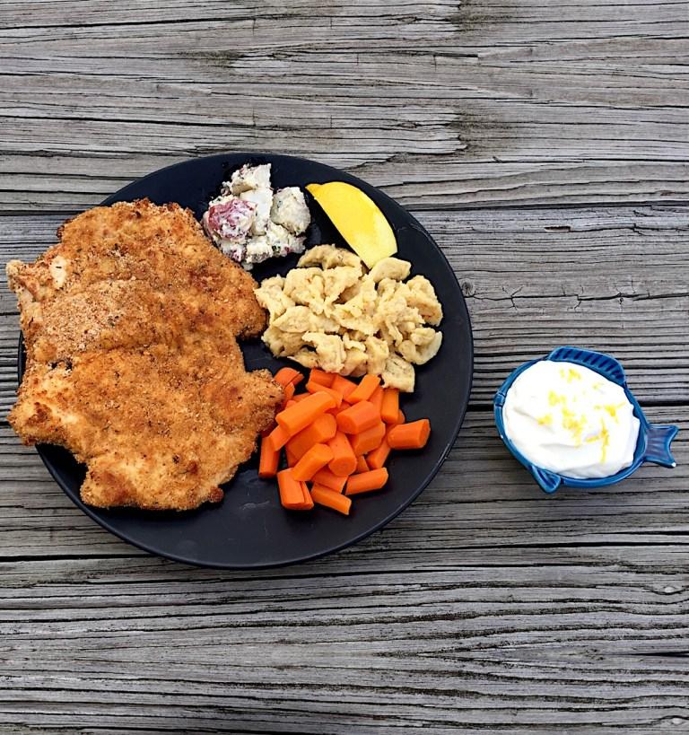 Baked-Chicken-Schnitzel-Icon