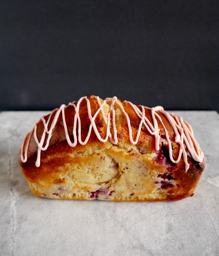 white-chocolate-raspberry-rose-loaf-cake