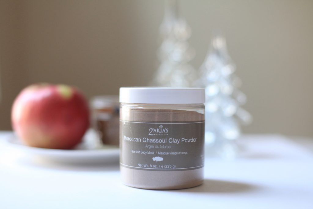 Moroccan Ghassoul Clay Mask Powder from Zakia's Morocco