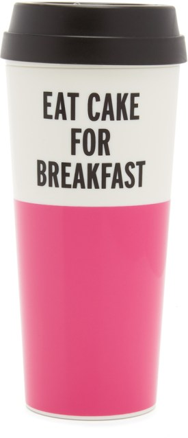 Kate Spade Eat Cake for Breakfast Thermal Mug