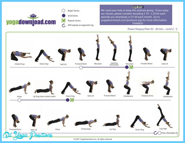 Vinyasa Flow Yoga Poses Allyogapositions Com