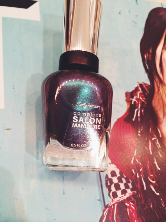 Sally Hansen Black and Blue Complete Salon Manicure All You Need is Blush