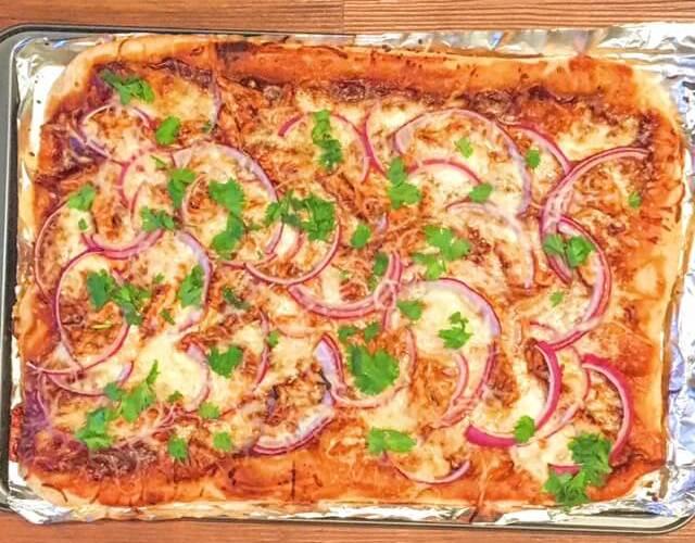 California Pizza Kitchen Barbecue Chicken Pizza