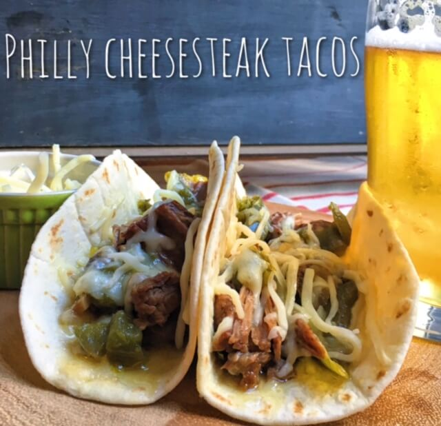 You Have to Try These Philly Cheesesteak Tacos
