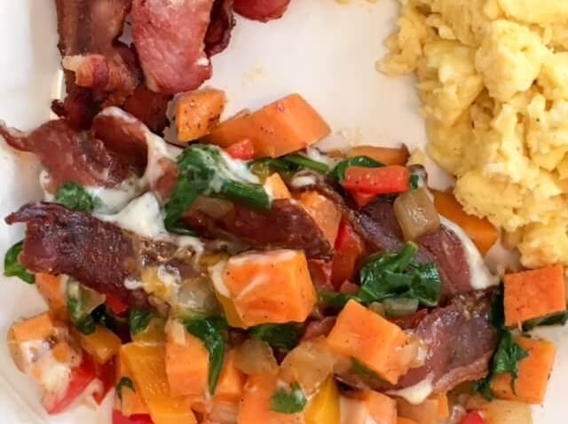 Southwestern Sweet Potato Hash
