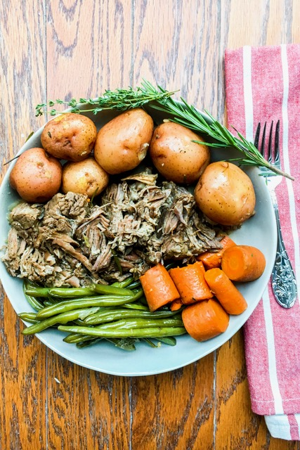 Simple Slow-Cooked Perfect Pot Roast