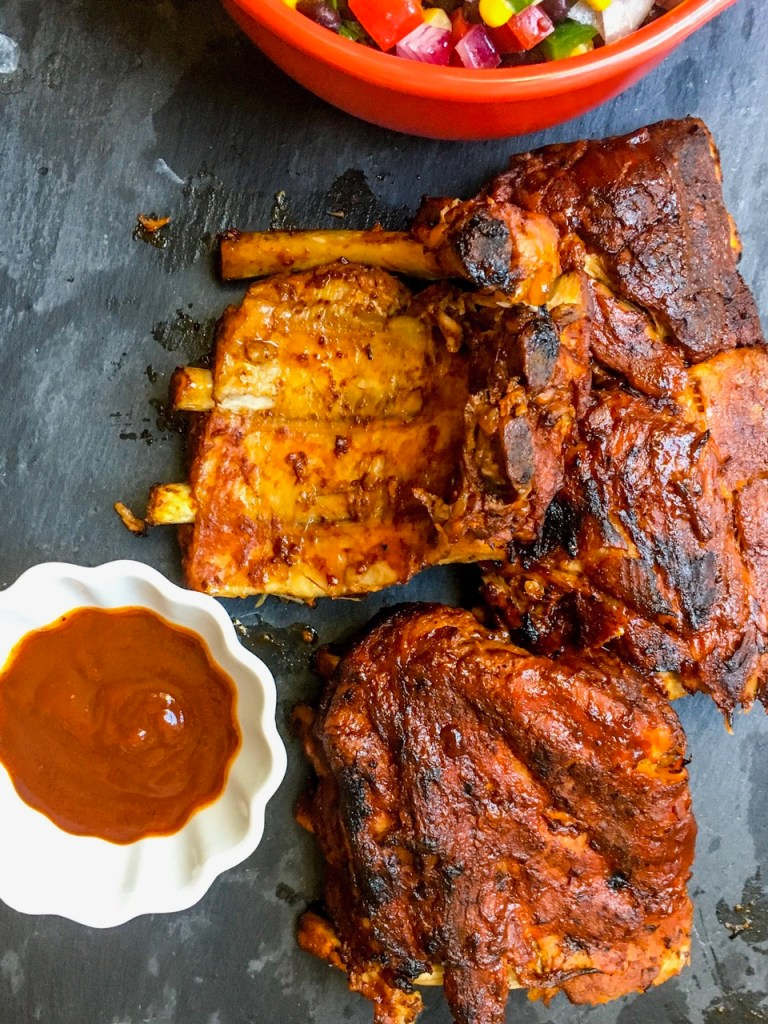 Fall-off-the-Bone Slow Cooker Barbecue Ribs