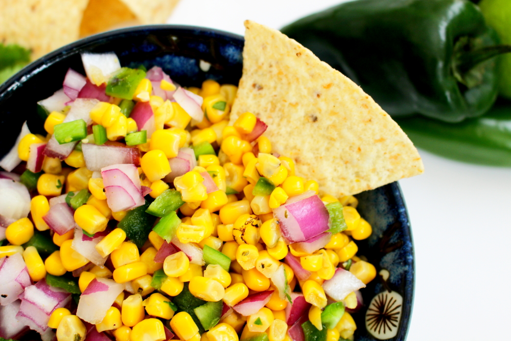 Copycat Chipotle Corn Salsa (Medium)
