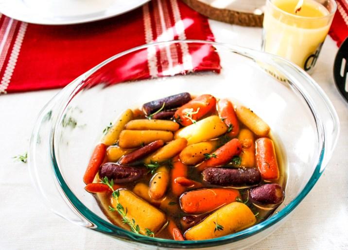 Whisky Glazed Carrots
