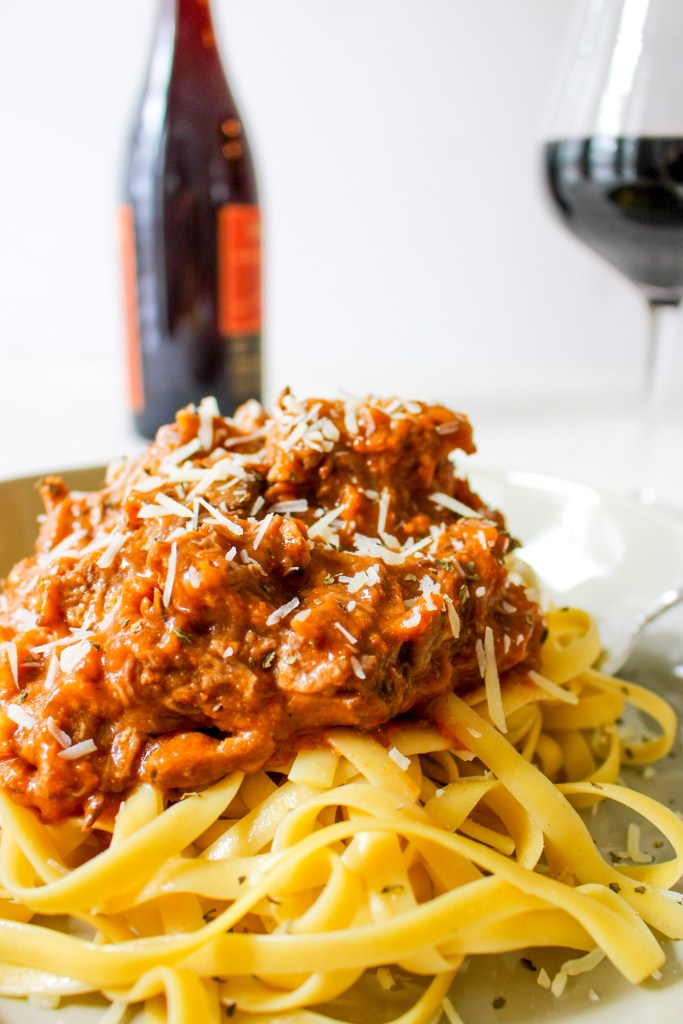 Slow Cooker Beef Ragu Bolognese