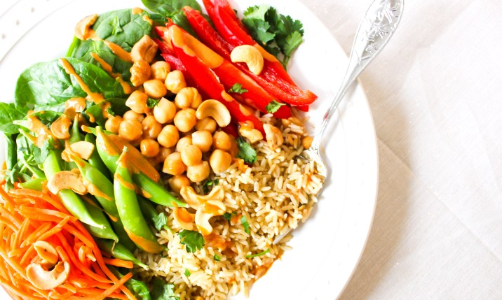 Healthy Vegan Buddha Bowl