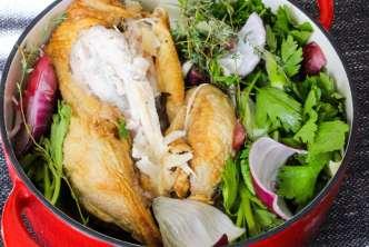 How to Make Homemade Chicken Stock