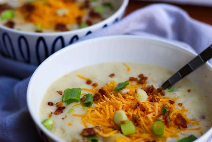 Easy Homemade Baked Potato Soup