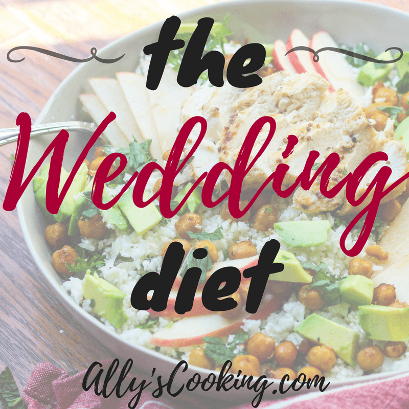 The Wedding Diet Meal Plan: Week 1