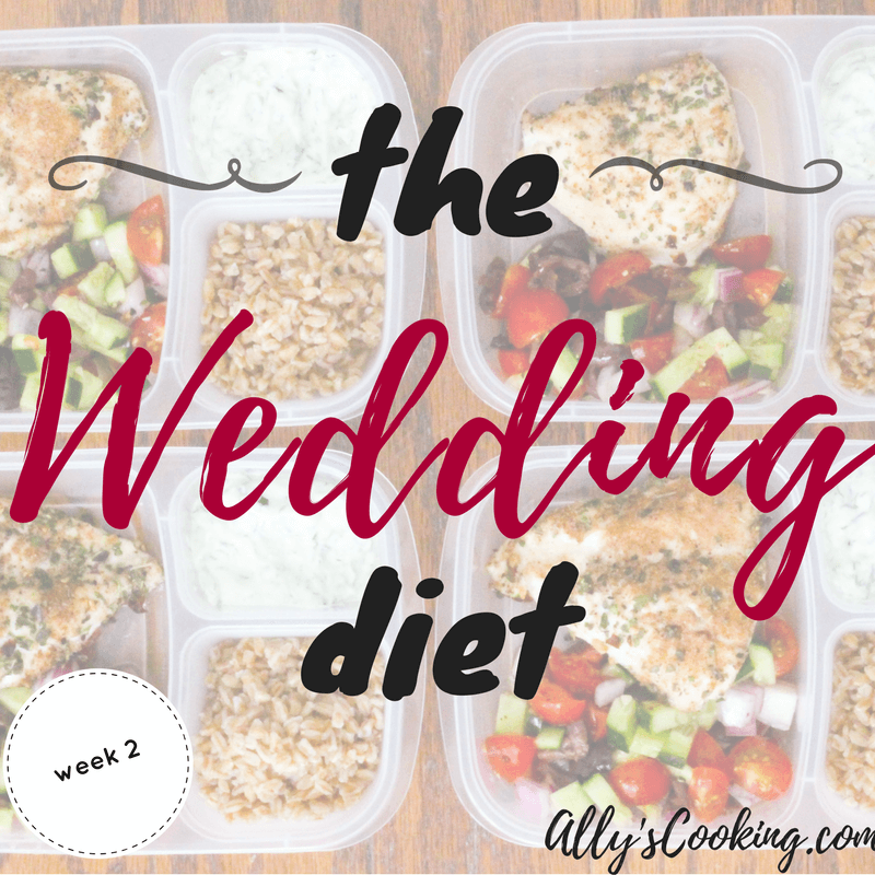The Wedding Diet Meal Plan: Week 2