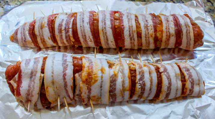Bacon Wrapped Pork Tenderloin