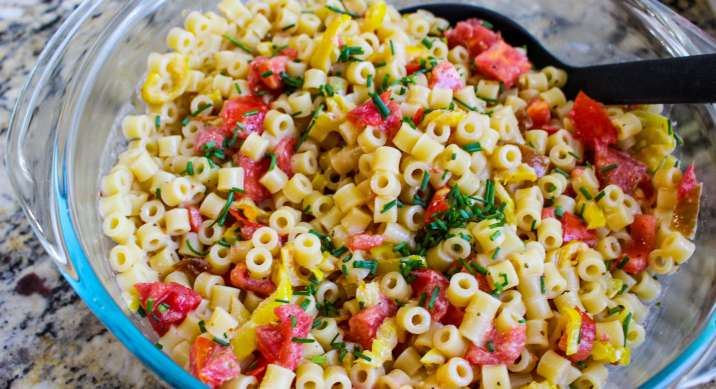 Tangy Honey Chipotle Pasta Salad