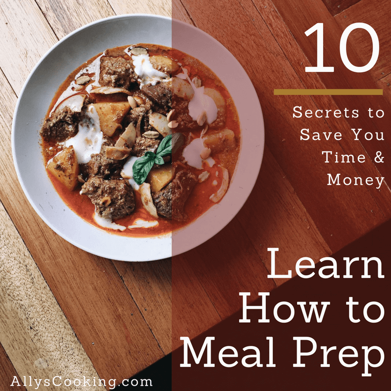 How to Meal Prep to Save Money and Time