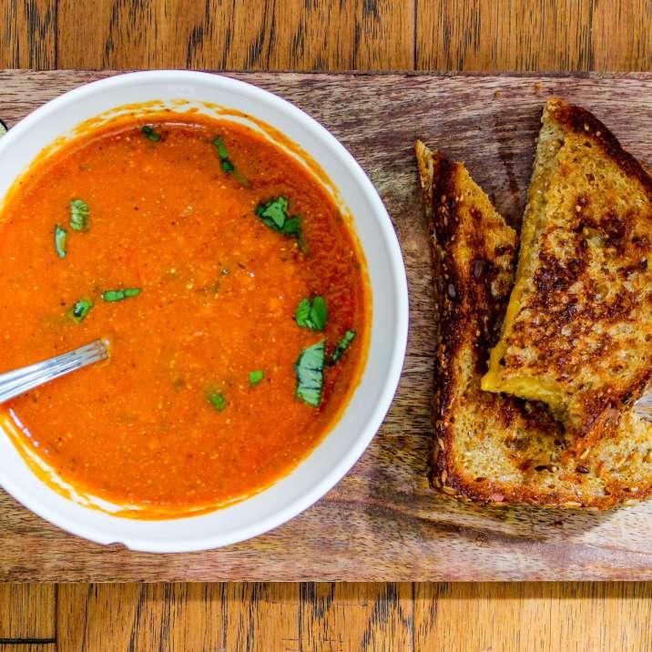 Creamy Tomato Basil Soup