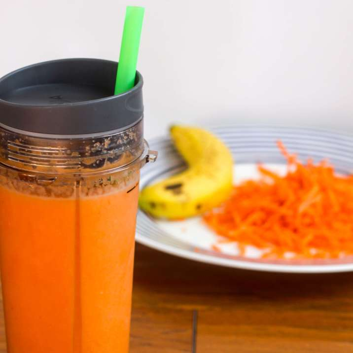 Carrot Ginger Collagen Glow Smoothie
