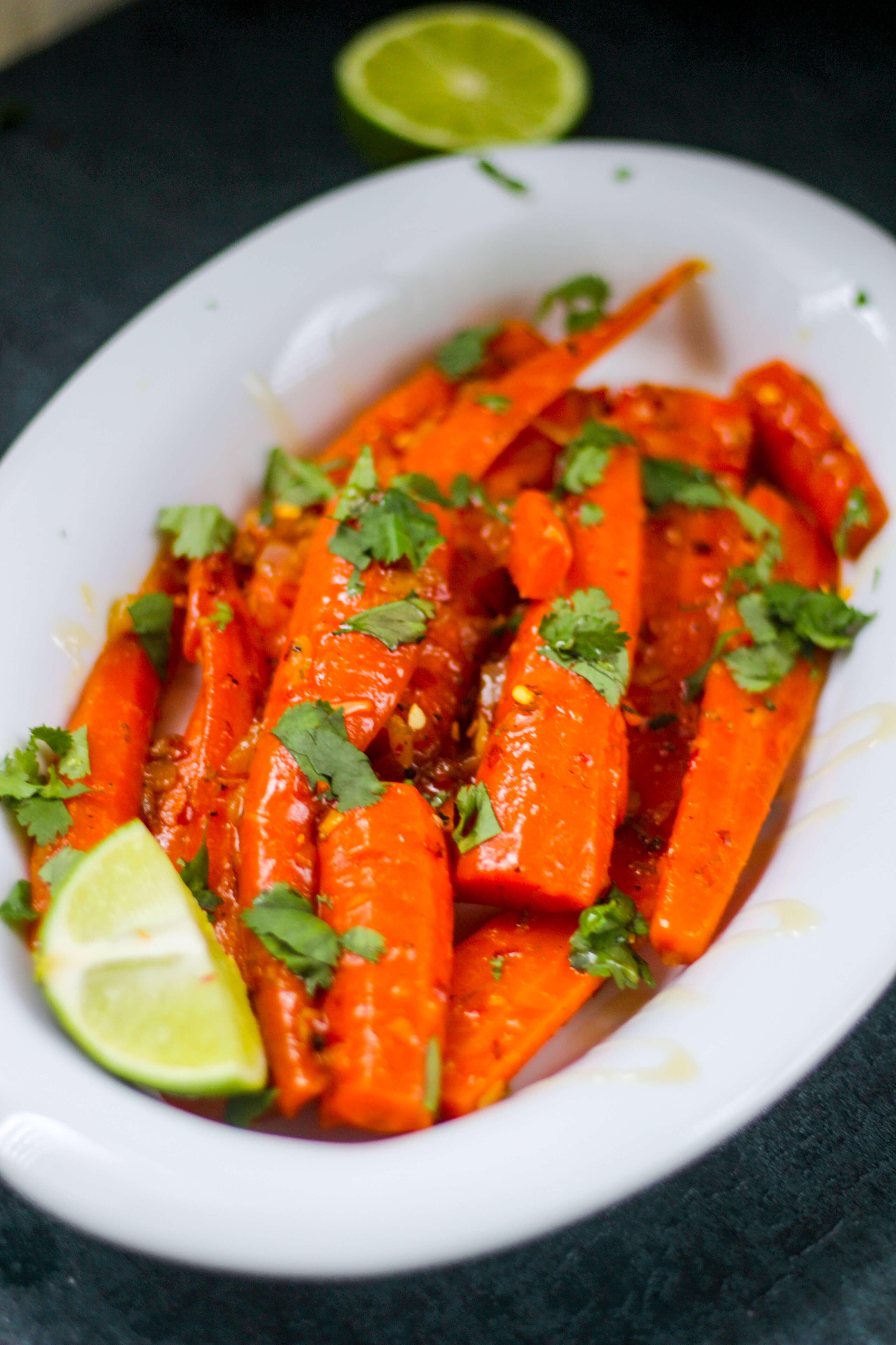Margarita Braised Carrots