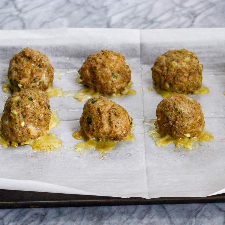 Baked Turkey Meatballs