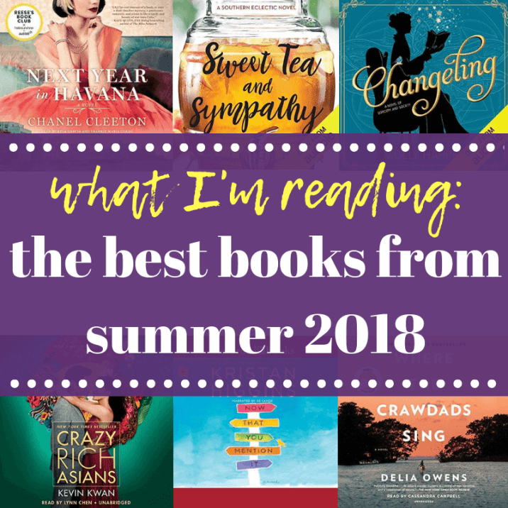 Top 5 Best Books from Summer 2018
