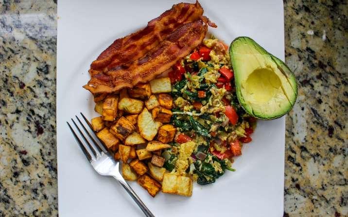 Healthy Southwest Breakfast Scramble