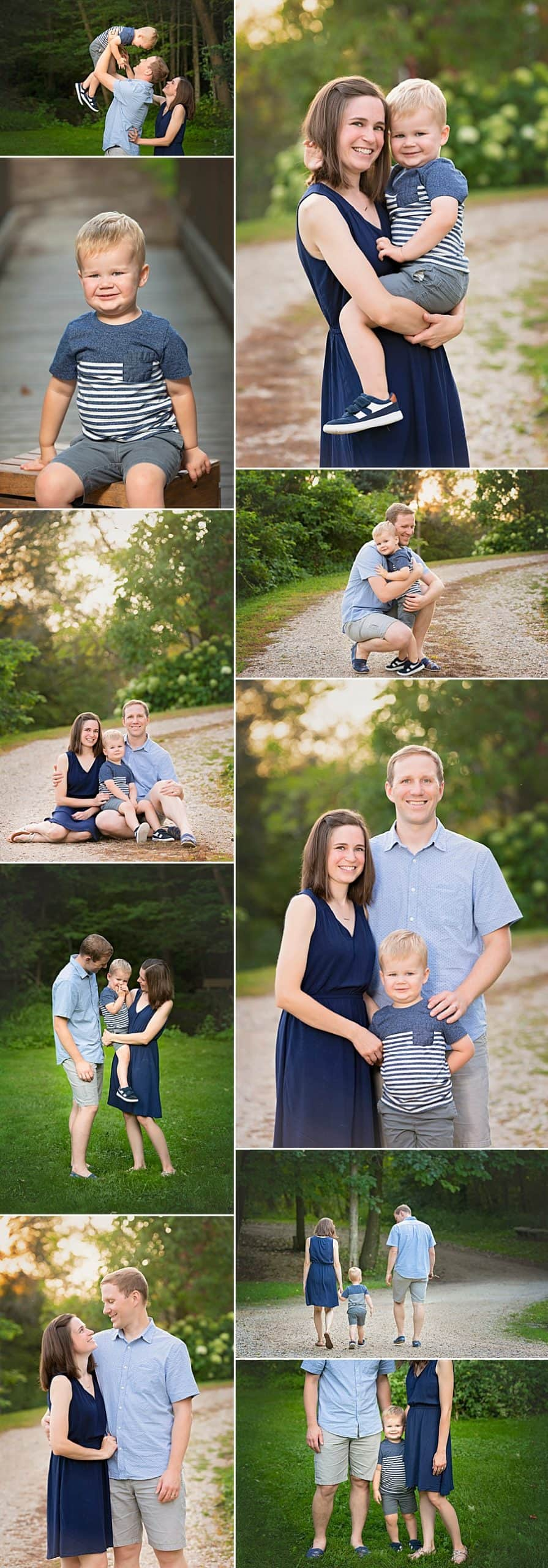Slinger Family Photographer Session at Richfield Historical Society