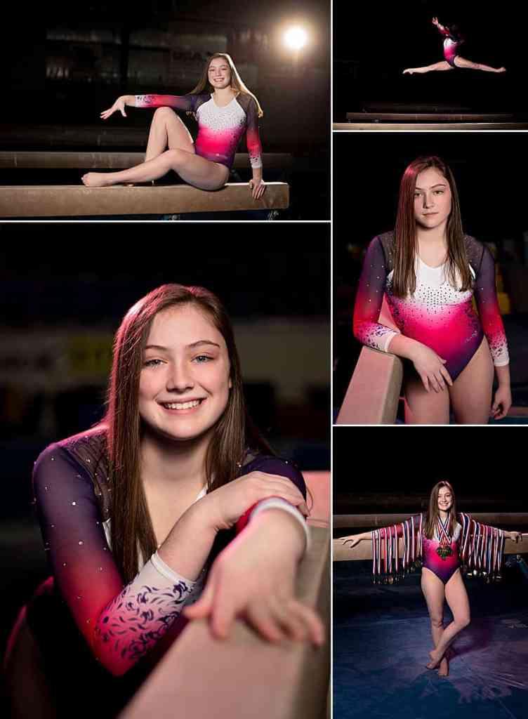 Salto Gymnastics Senior Pictures of Lake Country Lutheran High School Senior