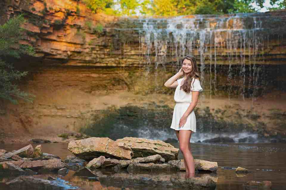 Senior Pictures at Fonferek's Glen in Green Bay, WI