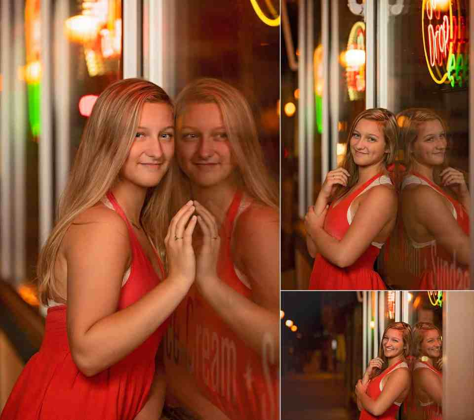 Senior Pictures in Downtown Hartford, WI