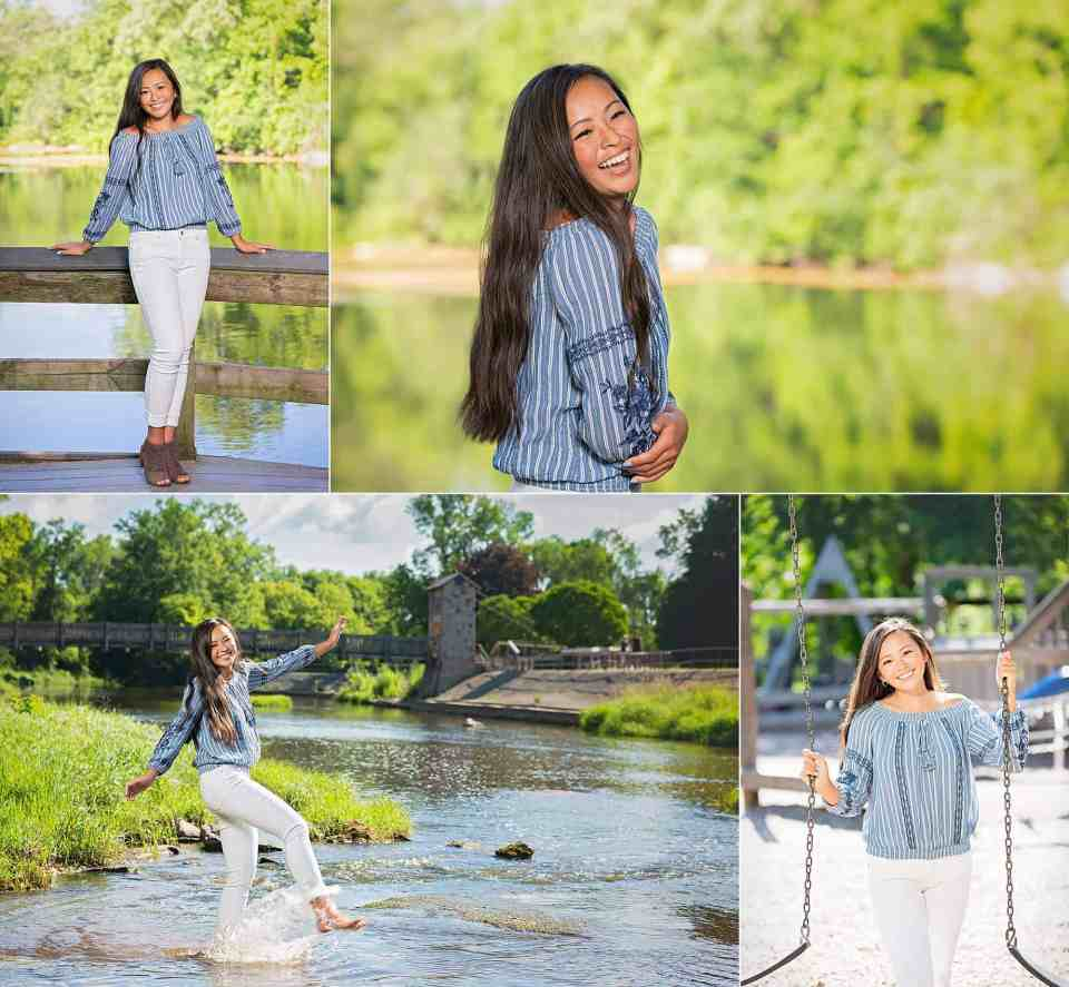 Senior Pictures at Pamperin Park in Green Bay, WI